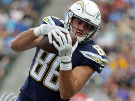 Rivers throws pinpoint 8-yard TD pass to Hunter Henry