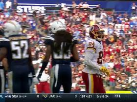 Niles Paul pulls in leaping catch for 15 yards on fourth down