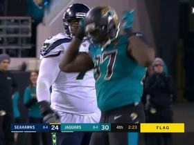Jaguars defense smothers Russell Wilson for critical third down sack
