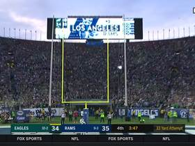 Jake Elliott nails 33-yard go-ahead FG