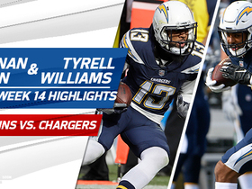Keenan Allen and Tyrell Williams highlights | Week 14