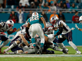 Dolphins recover Patriots' strange onside kick