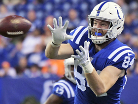 Jack Doyle earns this 7-yard toe-tapping catch, nabs first down