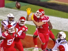 Kelce dashes Chargers' Hail Mary hopes at first-half buzzer