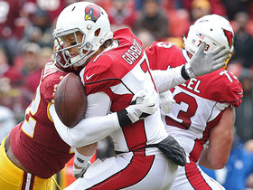 Lanier lays out Gabbert on sack-fumble, Redskins recover