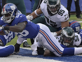 Giants score on opening drive for first time in 2017 with Darkwa TD