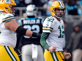 Aaron Rodgers throws first TD since injury to Davante Adams