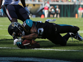 Jaydon Mickens stretches out for 5-yard TD