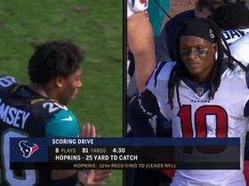 Jalen Ramsey upset about DeAndre Hopkins' TD