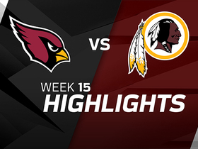 Cardinals vs. Redskins highlights | Week 15