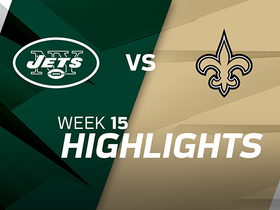 Jets vs. Saints highlights | Week 15