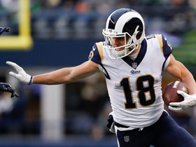 Cooper Kupp catches checkdown and fights for 15 yards