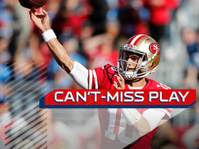 Can't-Miss Play: Jimmy G's desperation heave results in controversial catch