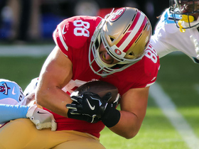 Celek secures TD catch after Garoppolo rolls out