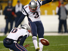 Stephen Gostkowski makes 46-yard field goal