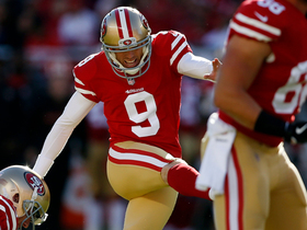 Gould hits 38-yard FG to give 49ers lead with 3:08 left to play