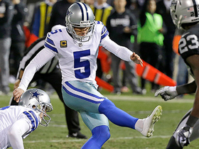 Dan Bailey's 19-yard field goal puts the Cowboys in the lead