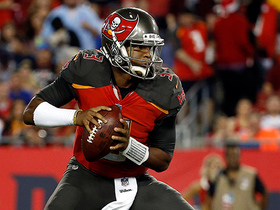 Jameis Winston shakes defender, delivers 14-yard strike to Antony Auclair