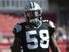 Can the Panthers withstand the loss of Thomas Davis for two games?