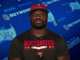 Clinton McDonald talks Walter Payton Award, Gerald McCoy, Chris Baker