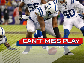 Can't-Miss Play: Colts come up with blocked punt at PERFECT time
