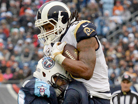 Todd Gurley hurdles defender to pick up first down