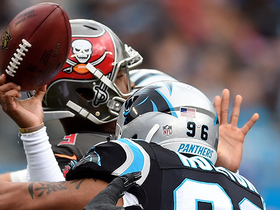 Wes Horton causes Jameis Winston sack and fumble, Panthers recover