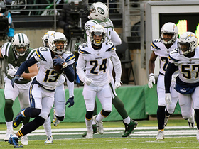 Keenan Allen gets first career pick off Bryce Petty Hail Mary