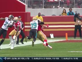 Jimmy Garoppolo finds George Kittle for 21 yards