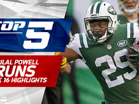 Top 5 Bilal Powell runs | Week 16