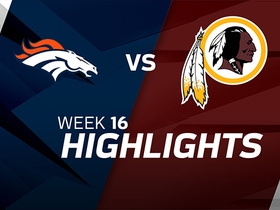 Broncos vs. Redskins highlights | Week 16