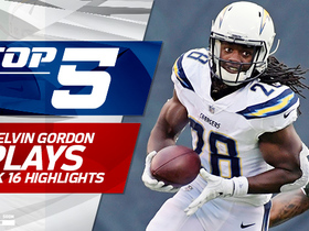 Top 5 Melvin Gordon plays | Week 16