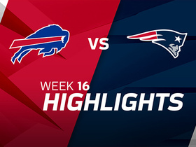 Bills vs. Patriots highlights | Week 16