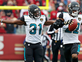 Jaguars get on the board with blocked PAT return