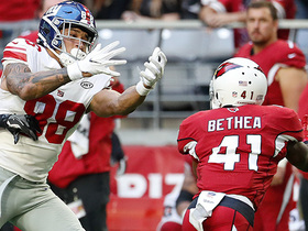 Antoine Bethea somehow snags incredible INT away from Engram