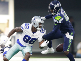 Byron Maxwell punches ball out of Dez Bryant's hand for HUGE takeaway