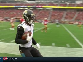 T.J. Yeldon turns on the jets for 20-yard sideline catch
