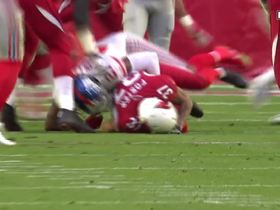 Landon Collins suffers apparent injury after laying solid tackle