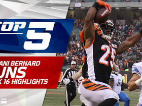 Top 5 Giovani Bernard plays | Week 16