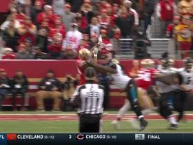 Blake Bortles finds Dede Westbrook over the middle for 23 yards