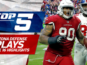 Top 5 plays by Arizona Cardinals defense | Week 16