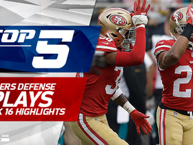 Top 5 plays by 49ers defense | Week 16