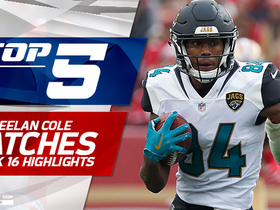 Top 5 Keelan Cole catches | Week 16