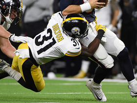 Hat trick! Mike Hilton records speedy third sack of game