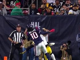 Michael Irvin reacts to DeAndre Hopkins' 'incredible' left-handed catch