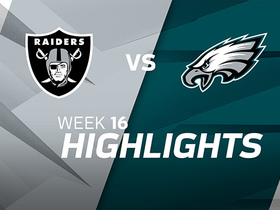 Raiders vs. Eagles highlights | Week 16