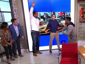 GMFB pitches a touchdown celebration for Week 17 to Austin Seferian-Jenkins