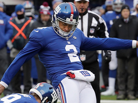 Redskins block Rosas' extra point after Giants' opening-drive TD