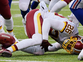 Bashaud Breeland's bobbled kick return nearly results in TO
