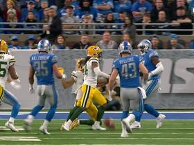 Punt hits Donatello Brown's helmet and Lions recover for a TO